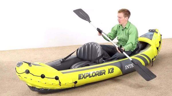 kayak hinchable explorer k2