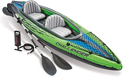 kayak hinchable 2 plazas k2
