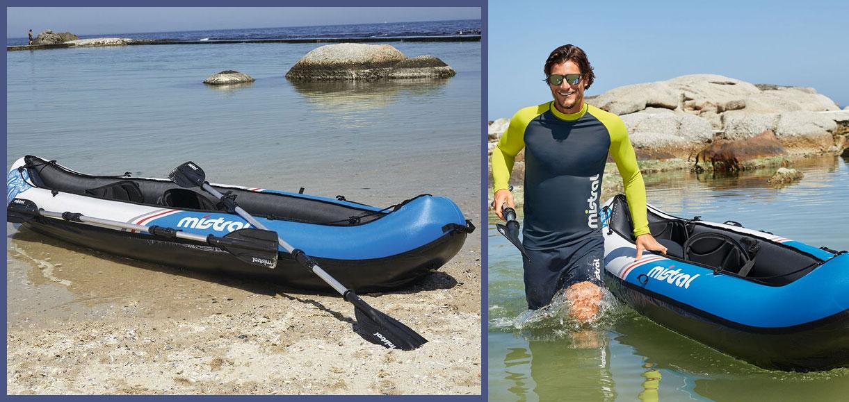 kayak hinchable lidl mistral
