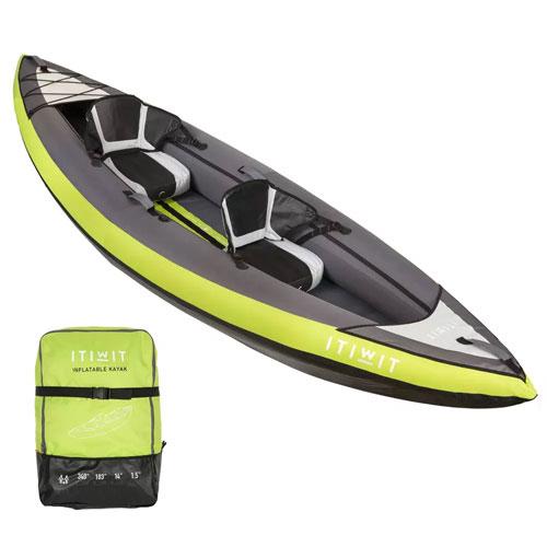 kayak hinchable 2 plazas decathlon