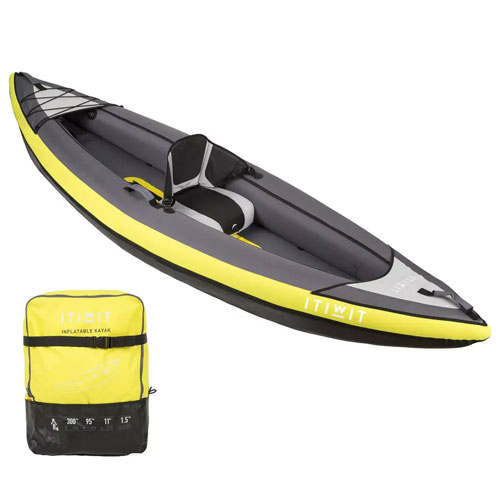 kayak inflable decathlon itiwit individual